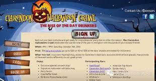 Clarendon Halloween Bar Crawl by 10 23 11 01 看看华府best Halloween 2015有什么好玩的吧 华府网