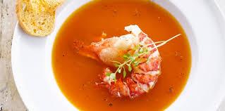cuisiner homard congelé bisque de homard surgelé facile recette sur cuisine actuelle