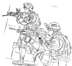 Soldier Coloring Pages Free Printable Army For Kids To Print