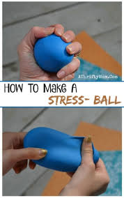 Kids Crafts How To Make A Stress Ball Perfect For Tweens Or Teens