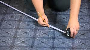 Tiling A Bathroom Floor Over Linoleum by Installing Vinyl Tile Over Linoleum Let U0027s Talk Flooring Youtube