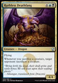 Deck Built Around Ashiok Nightmare Weaver by Magic The Gathering Dragons Of Tarkir Cruel Plots Intro Pack