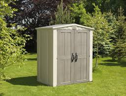 Rubbermaid Gable Storage Shed 5 X 2 by Keter Factor 5 Ft 10 In W X 3 Ft 9 In D Plastic Tool Shed