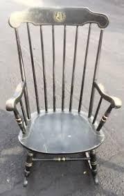 Nichols And Stone Windsor Rocking Chair by Vintage Moravian College University Nichols U0026 Stone Windsor