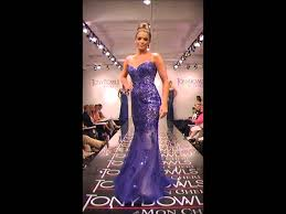tony bowls paris 115748 from prom dress shop youtube