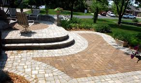 Recycled Paver Patio