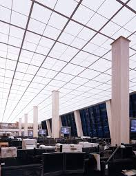 Newmat Light Stretched Ceiling by Banc Of America 2002 Ny U2013 Newmat Stretch Ceiling U0026 Wall Systems