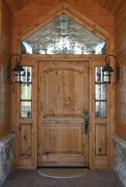 Looks Beautiful Exterior Elegant Arts And Crafts Entry Door Style With Sidelites Transom Design Antique Outdoor Wall Sconces Ideas