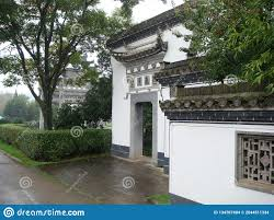 100 Court Yard Houses Classical Architectural Yard Stock Photo Image Of