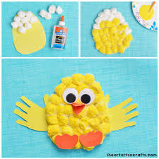 Chick Cotton Wool Craft