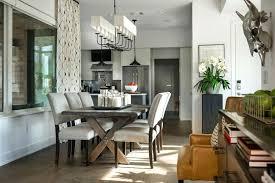 Modern Farmhouse Dining Room Wall Decor Contemporary Formal Design Table