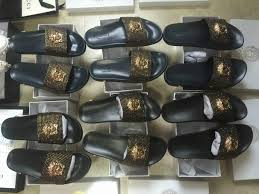 11 Versace Medusa Head Beach Slippers Gucci Ribbon Sandals Slides Studs 1