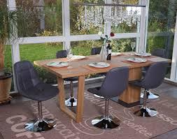 furniture kunstleder creme fuß gebürstet drehstuhl stuhl 2x esszimmerstuhl mcw a60 home furniture diy itkart org