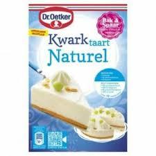 details about dr oetker kwarktaart naturel cheesecake mix 408g