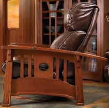 Stickley Mission Leather Sofa by Living The Furniture Shoppe