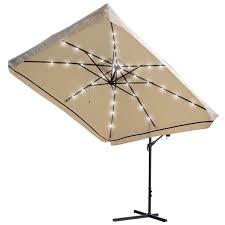 patio umbrella with led lights gccourt house