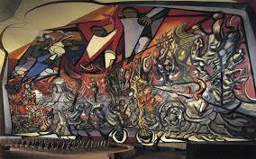 march of humanity 1971 by david alfaro siqueiros 1896 1974 mexico