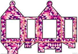 DIY Diwali Paper Lantern Craft Template 8
