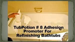 Homax Tub And Sink Refinishing Kit Black by How To Prevent Peeling Bathtub Coatings Tubpotion 8 Adhesion