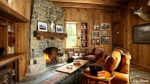 Living Room Warm And Cozy Cottages Rustic Rooms Ideas On A