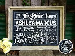 Amazing Chalkboard Wedding Sign Ideas For Vintage Rustic Weddings