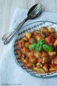 gnocchi mit italienischem gemüse experimente aus meiner küche