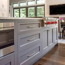White Gray Kitchen With Brass Hardware The DIY Playbook