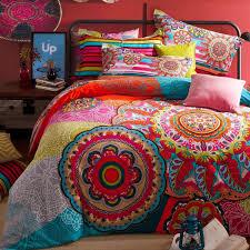 Bedroom Bohemian Bed In A Bag Bohemian Duvet Covers