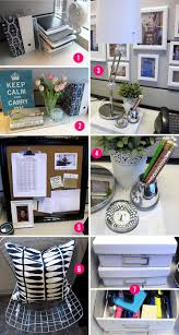 Your cubicle space can be pretty and inspiring Cubicle Makeover