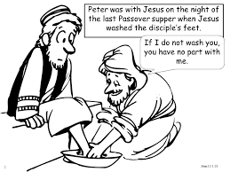 2 Peter Was With Jesus On The Night Of Last Passover Supper When Washed