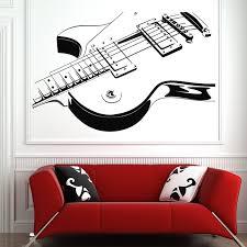 Guitar Wall Art Decor Posters And Prints B Metal