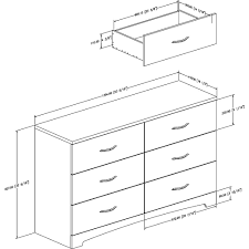 South Shore White Dressers by South Shore Beckie Dresser Pure White South Shore Toys