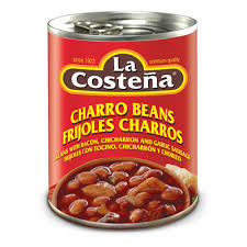 Refried Beans With Chicharron