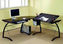 Mainstays L Shaped Desk With Hutch by Picturesque Black L Shaped Desk Design Terrific With Hutch Desks
