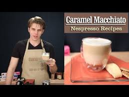 Pumpkin Spice Caramel Macchiato by How To Make A Perfect Caramel Macchiato With The Nespresso Machine