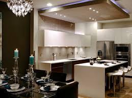 cuisine en u avec table cuisine en u avec table 4 faux plafond suspendu une