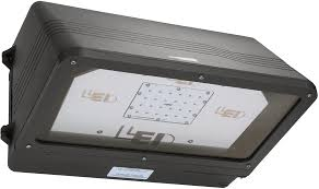 led outdoor area flood light wall pack fixtures commercial