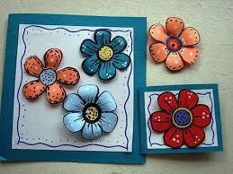 DIY Colorful Paper Flowers For Scrapbooking Or Card Making How To Make