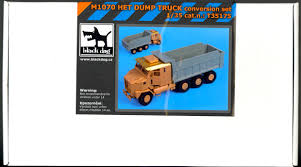100 Resin Model Truck Parts Blackdog S 135 M1070 HET DUMP TRUCK RESIN ACCEORRIES SET EBay