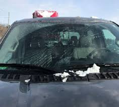 Who Is Accountable When Ice From Another Vehicle Hits Your Car On ...