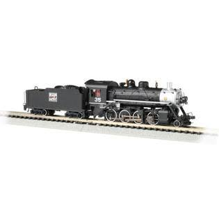Bachmann Industries N 2-8-0 w/DCC & Sound Value, WP