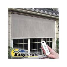 Roll Up Patio Screens by Sunsetter Easyshades