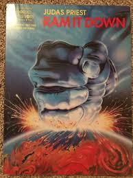Rocket Smashing Pumpkins Tab by Judas Priest Ram It Down Guitar Tab Tablature Book Reverb