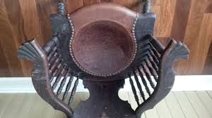 Solved: Antique Wood Chair With Leather Drop-in Seat - The ... Threeseaso Hashtag On Twitter Bring Back The Rocking Chair Victorian Upholstered Nursing Stock Woodys Antiques Wooden In Wn3 Wigan For 4000 Sale Shpock Attractive Vintage Father Of Trust Designs The Old Boathouse Pictures Some Items I Have Listed Frenchdryingrack Hash Tags Deskgram Image Detail Unusual Antique Mission Style Art Nouveau Cabbagepatchrockinghorse Amazoncom Strombecker Wooden Doll Rocking Chair Vintage Contemporary Colored Youwannatalkjive Before