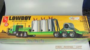 100 Amt Model Trucks Lowboy Trailer AMT Carmodelkitcom