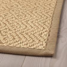 läufer flur ikea lohals teppich flach gewebt natur 80x150