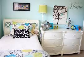 bedroom tween bedroom ideas shabby chic tufted white headboard