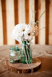 Barn Wedding On A Budget Table CenterpiecesWedding