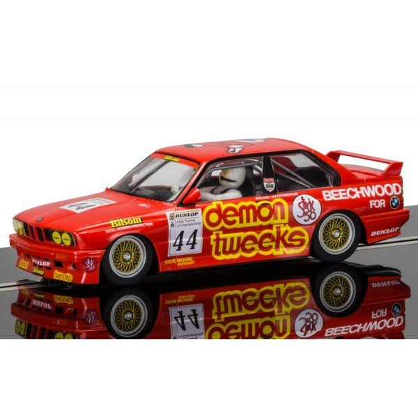 Scalextric BMW E30 M3 BTCC 44 Slot Car