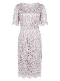 jacques vert luxury lace dress in gray lyst